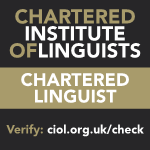 Chartered Institute of Linguists (CIOL) - Chartered Linguist